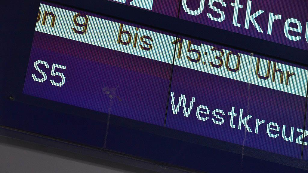 S-Bahn-Chaos: Engpass bis Dezember