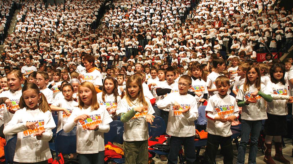 Großes Liederfest für Schüler in Berlin