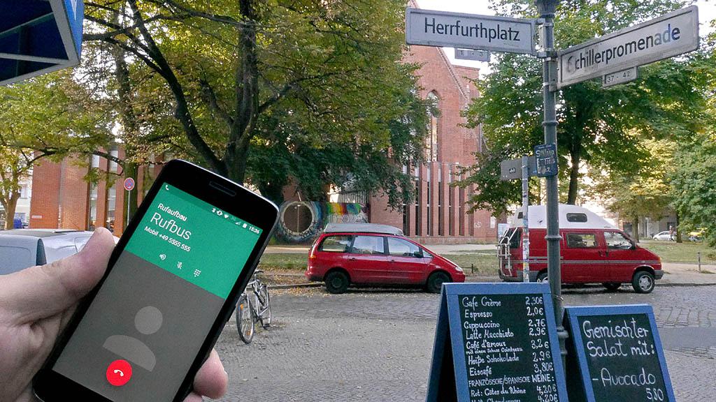 Rufbus-Test für Neuköllner Wohnquartiere