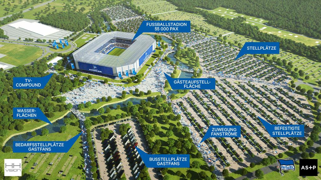 Hertha-Stadionbau ungewiss