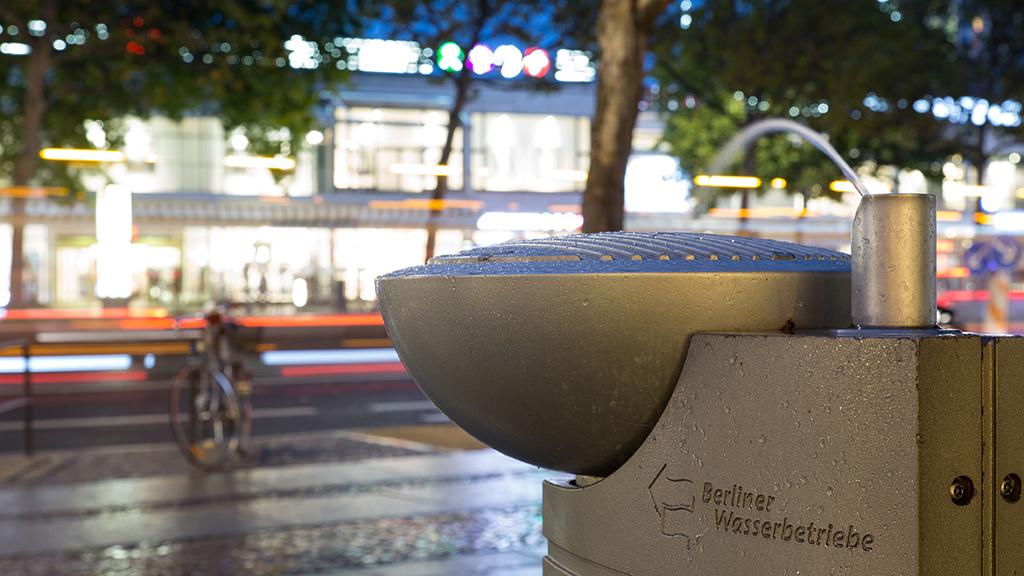 Neue Trinkbrunnen für Berlin