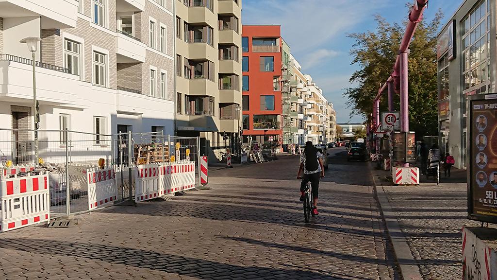 Erste Fahrradstraße für Friedrichshain