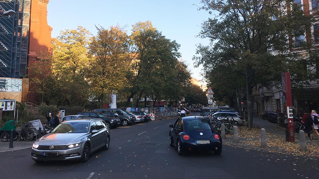Mehr Platz für Pankows Radfahrer
