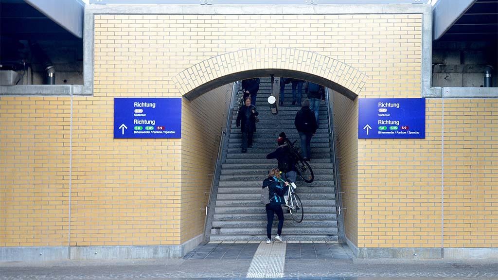 Treppentour in Schöneweide