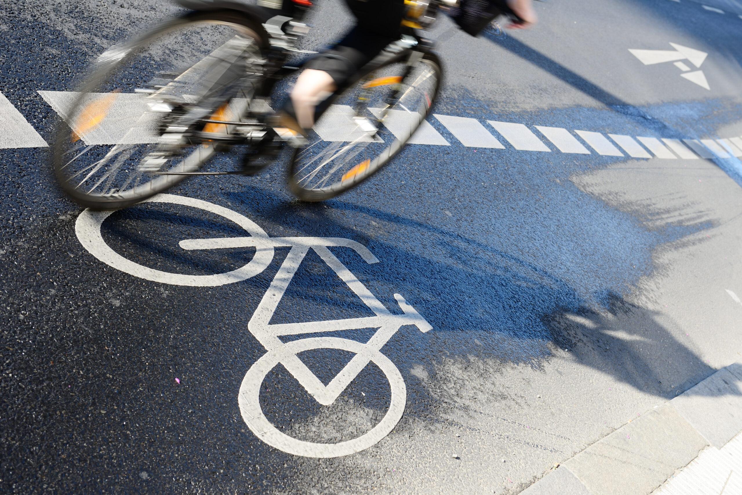 Mehr Radfahrer unterwegs