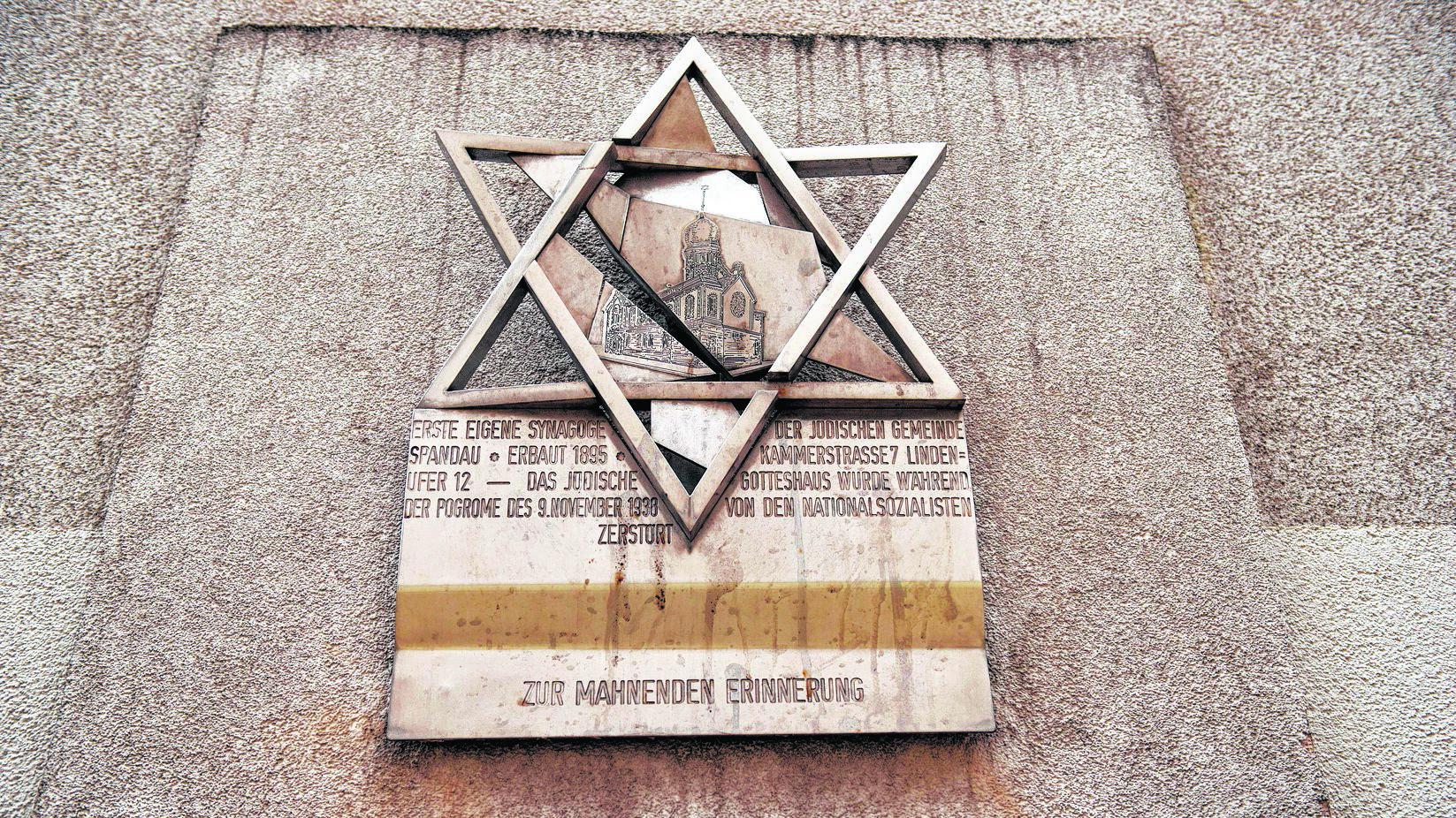 Spandau erinnert an Terror gegen Juden