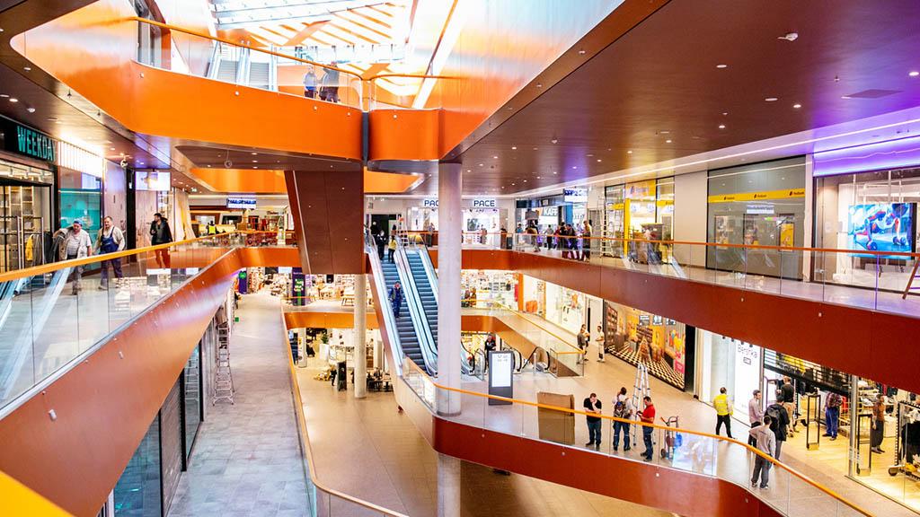 Noch eine Shopping-Mall!