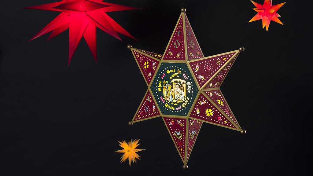 Nicht nur zur Weihnachtszeit: Sterne im Museum