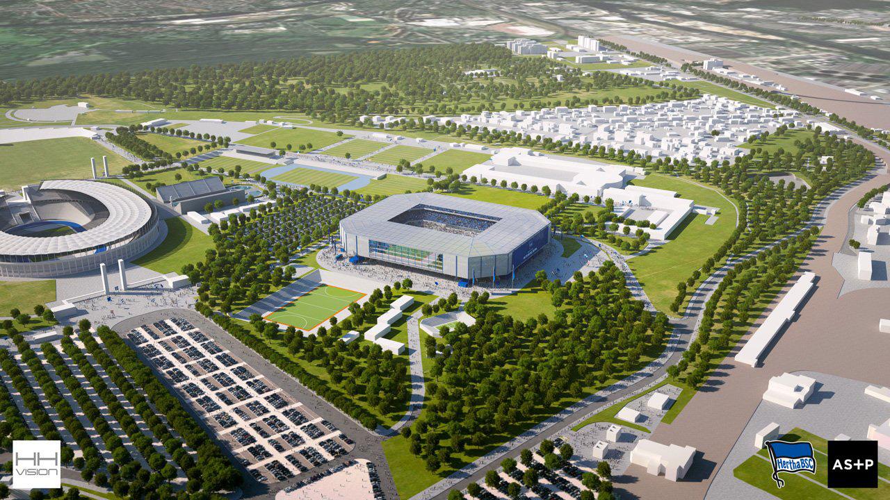Offene Fragen zum Hertha-Stadion