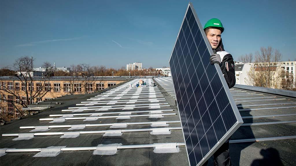 Sonnenstrom für die Klimaziele