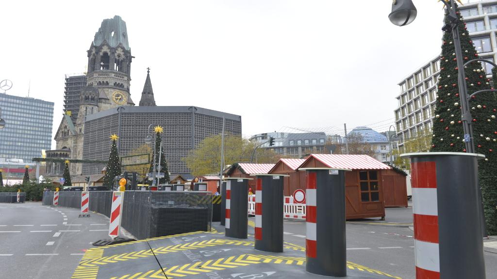 Mehr Sicherheit für den Breitscheidplatz