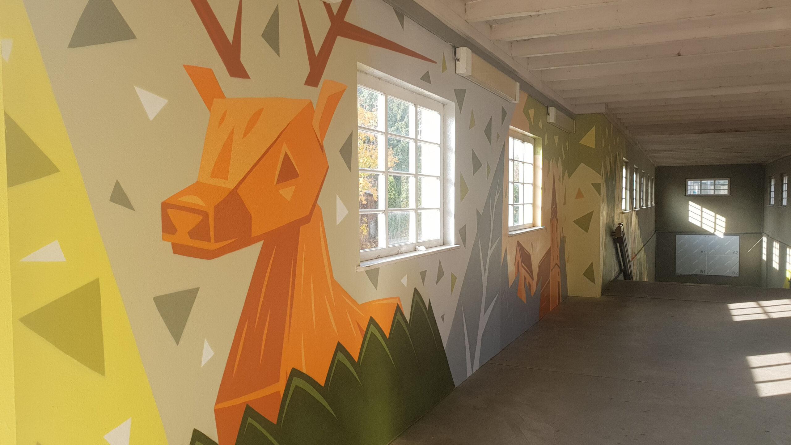 Mit Graffiti gegen Graffiti in Heiligensee