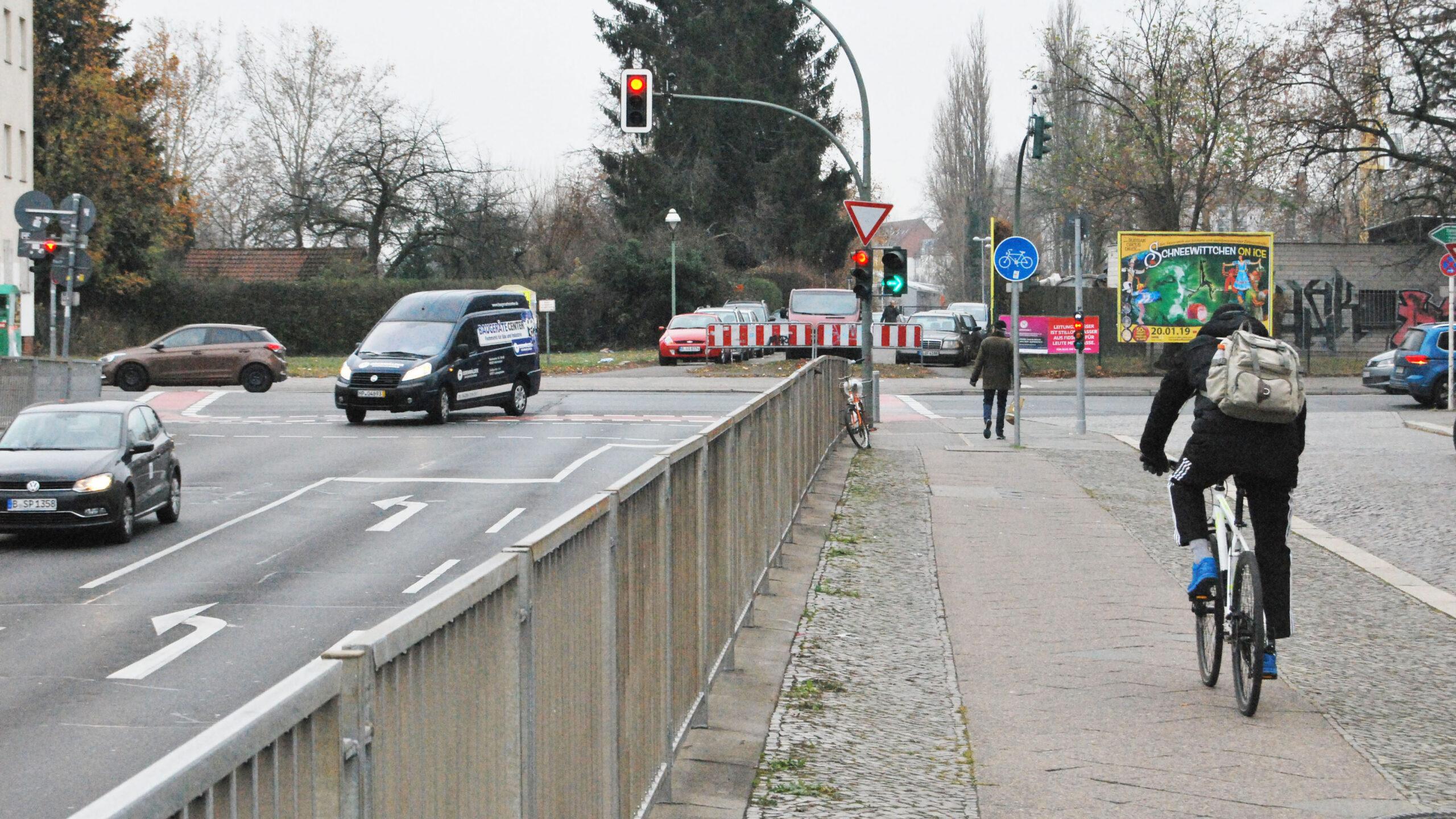 Spandau: Gefährliche Kreuzung wird entschärft