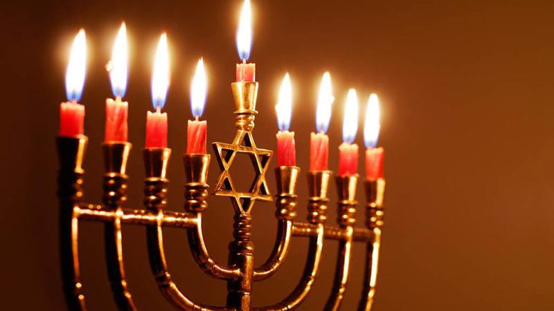 Jüdisches Lichterfest wird gefeiert