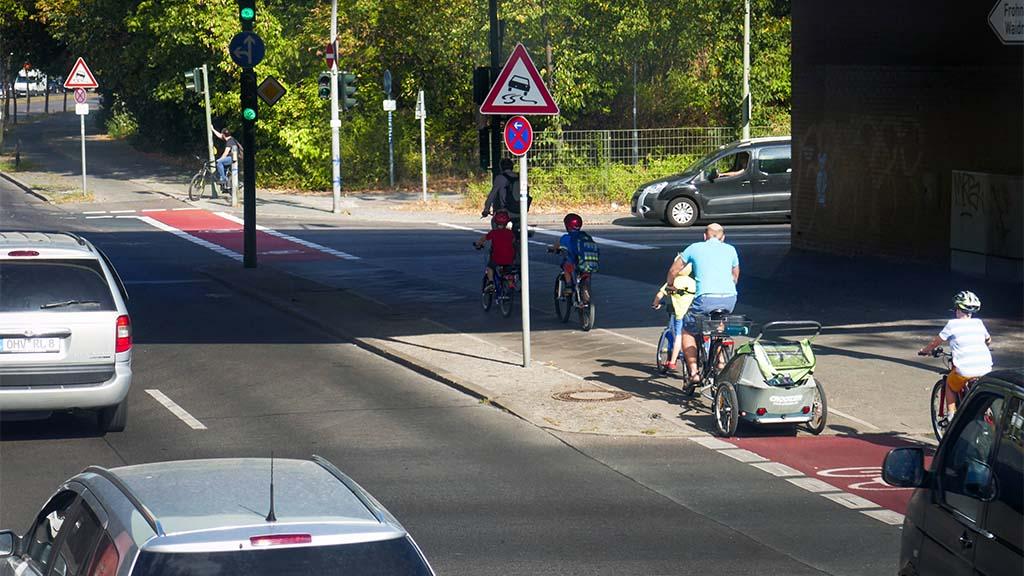 Mehr Tempo für  sicheren Radverkehr