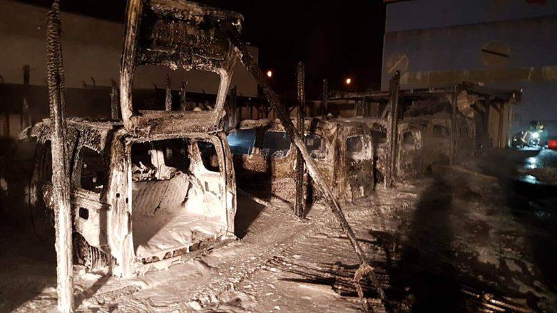 Neukölln: Brandanschlag gegen Ordnungsamt-Fahrzeuge