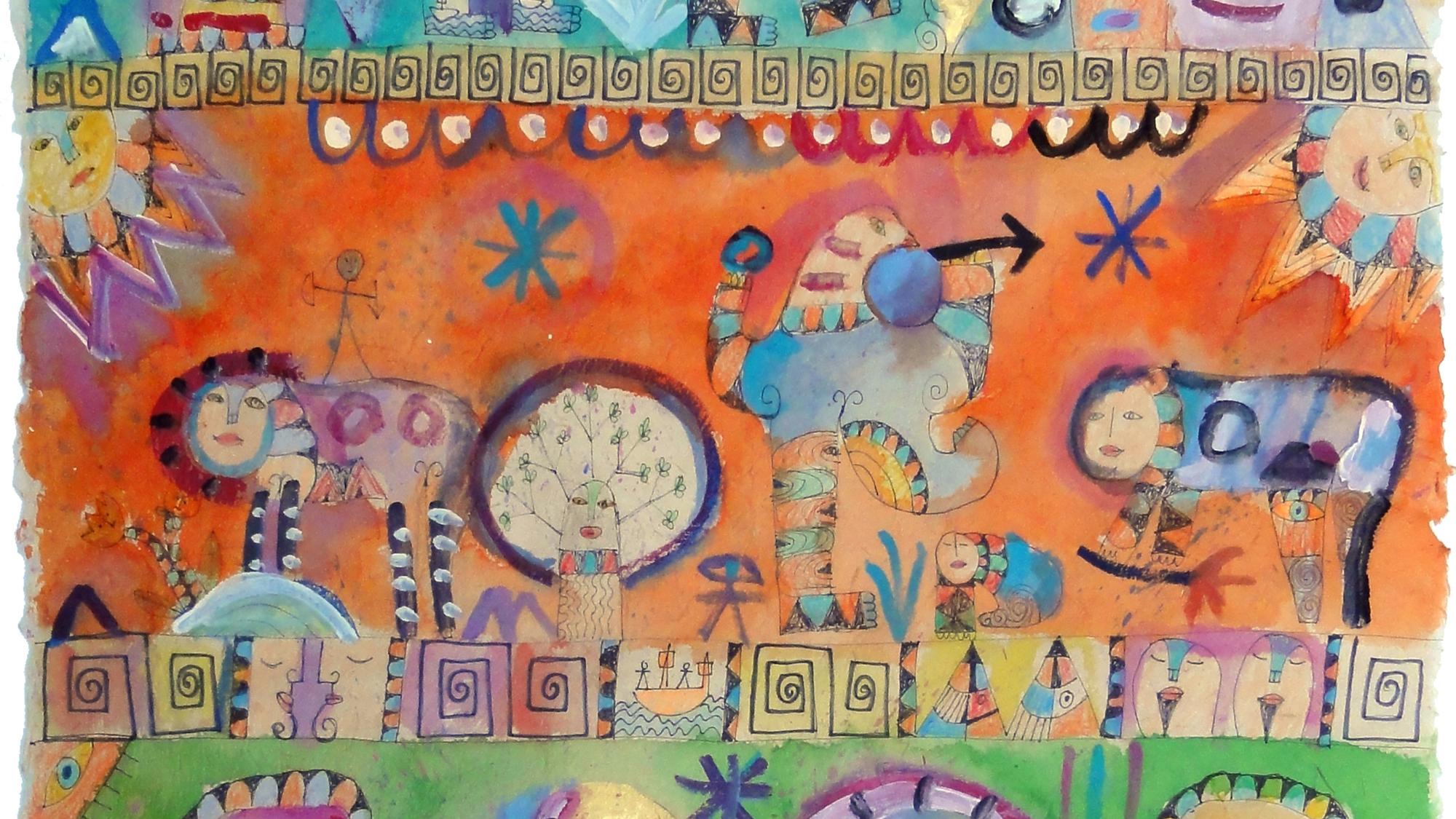 Außenseiter-Kunst in der Galerie Art Cru