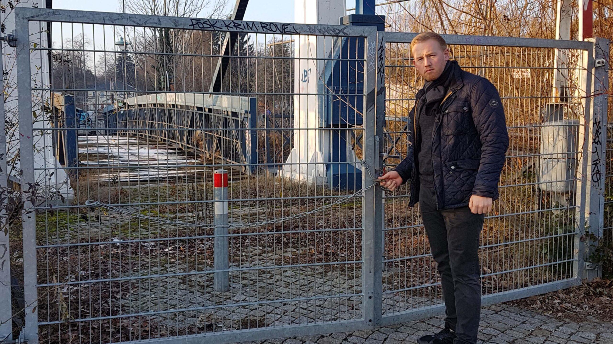 Brücke an Mühle in Tegel bald wieder offen