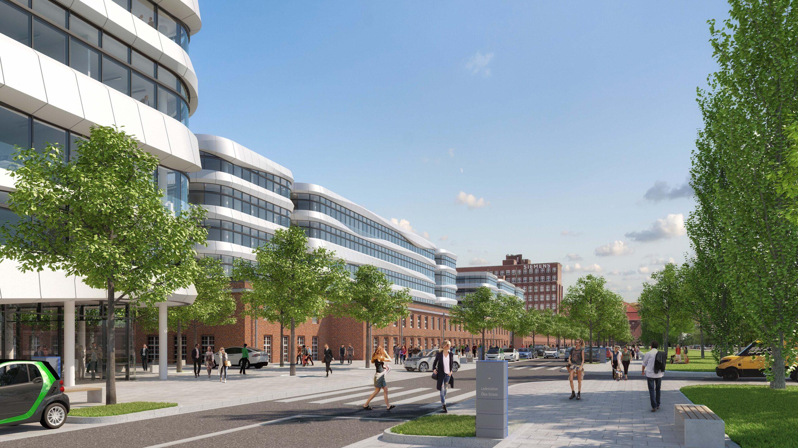 3.000 Wohnungen für Siemensstadt 2.0