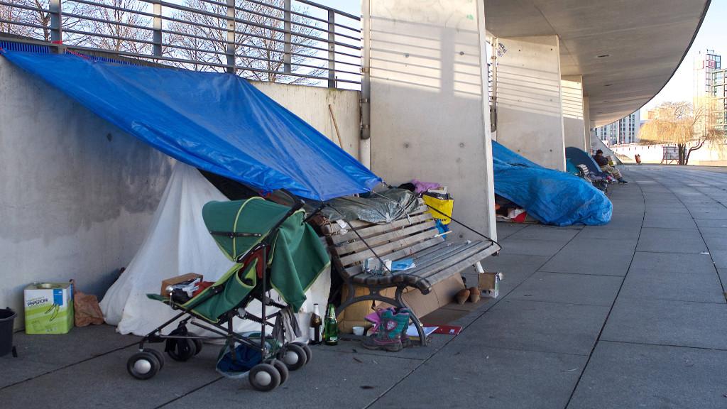 Obdachlosenlager im Ulap-Park geräumt