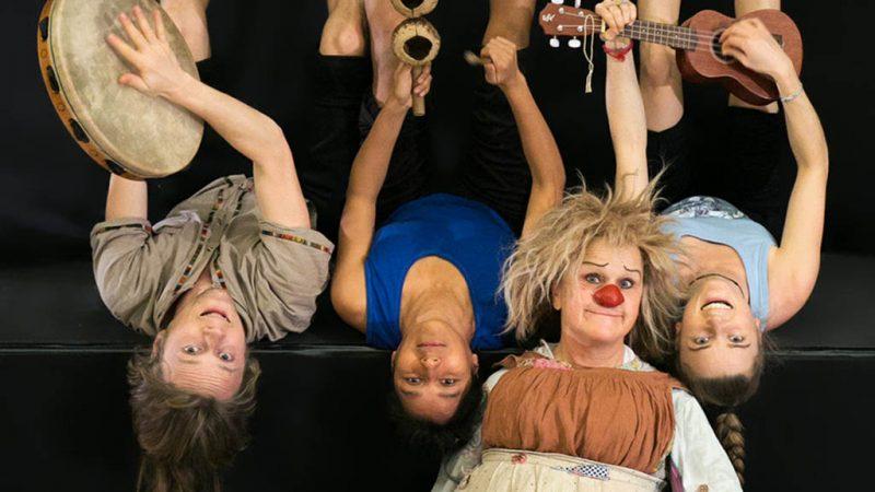 Clownin aus der Schweiz besucht die ufaFabrik