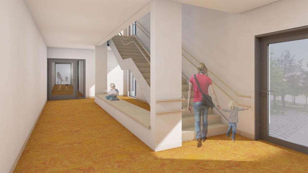 Neubau einer modularen Kindertagesstätte