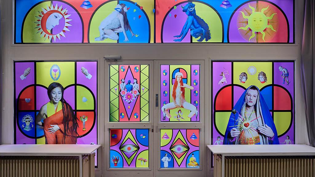 Friedrichshain: Spirituelle Ausstellung in der Galerie im Turm