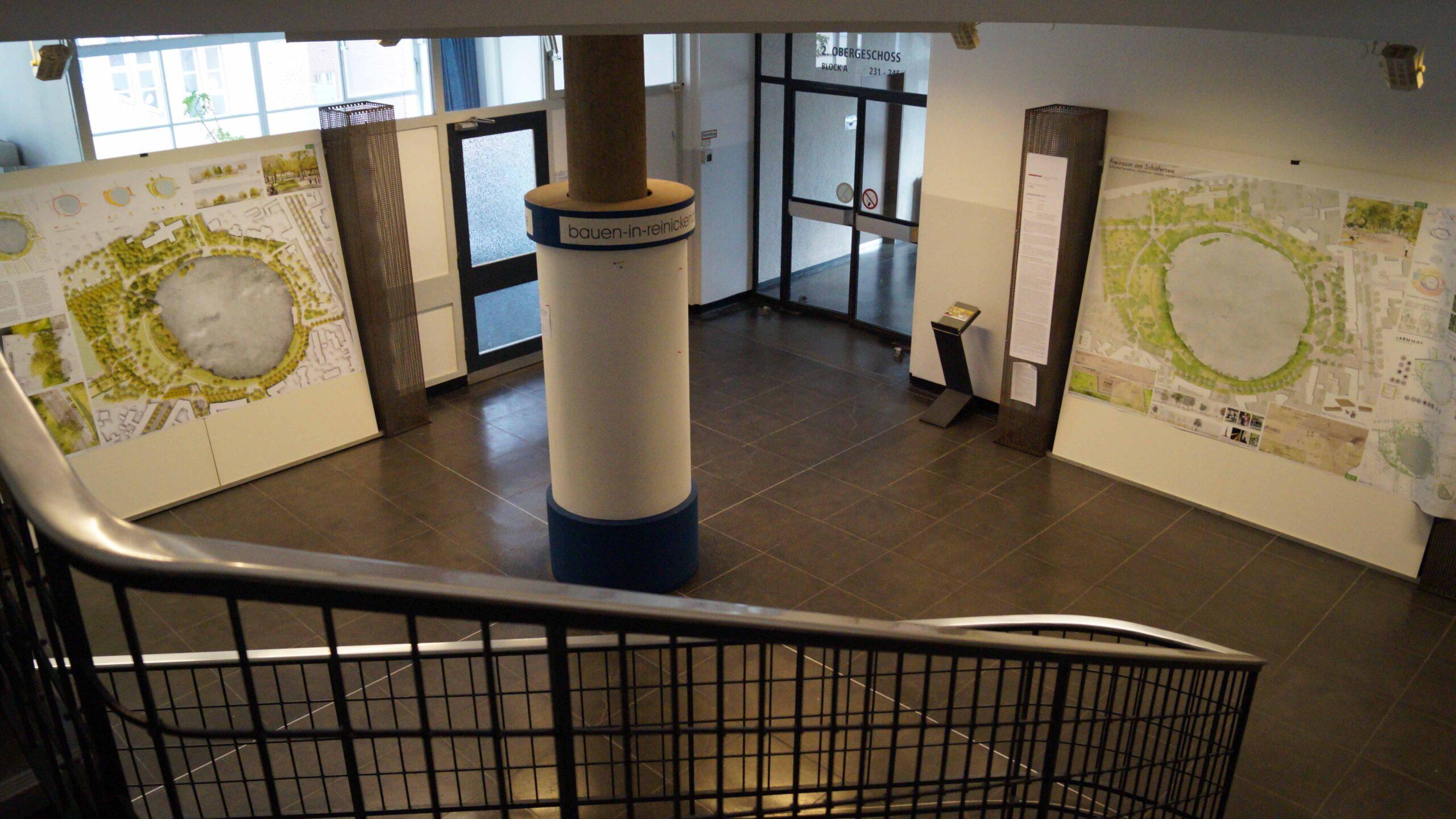 Schäfersee-Entwürfe im Rathaus Reinickendorf