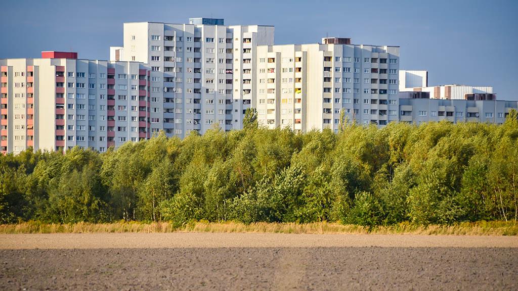 Modernisierung in der Gropiusstadt