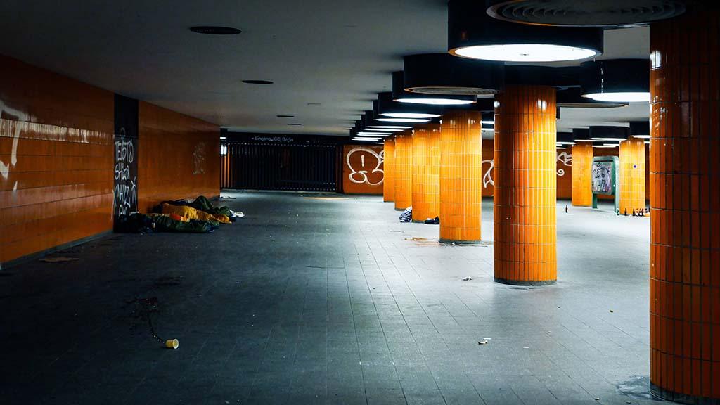 Obdachlose aus ICC-Tunnel vertrieben