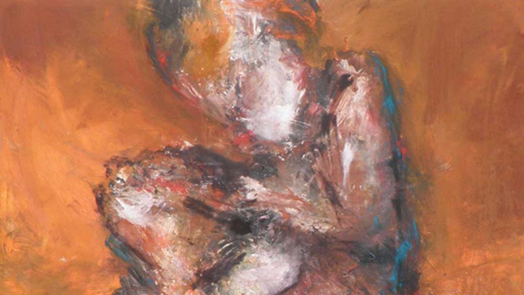 Expressive Malerei und Theater ohne Probe