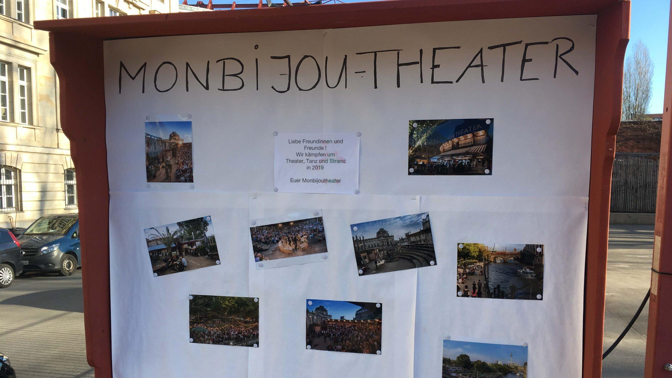 Neuer Ärger um Monbijou-Theater