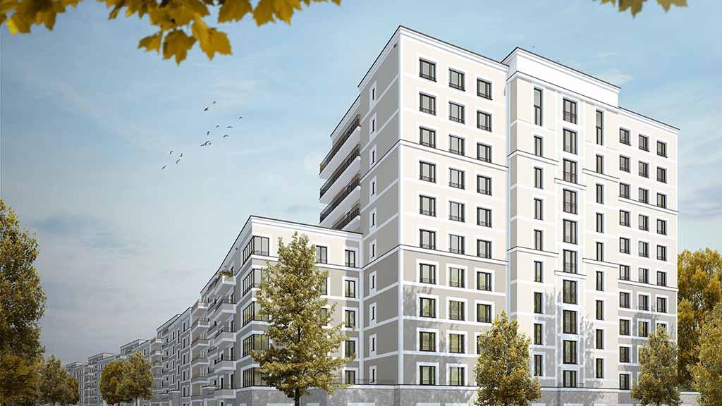 Spandau: Wohnungsbau an Paulsternstraße gestartet