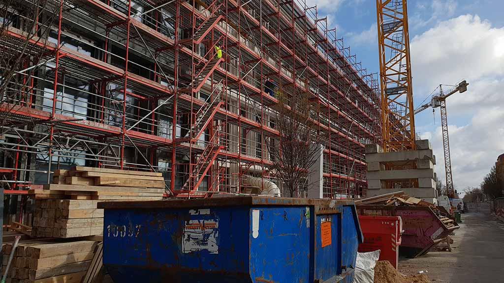 Bauarbeiten im Tegel-Center gehen voran