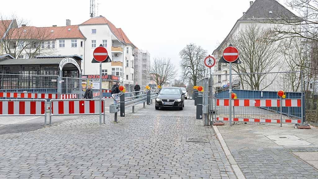 Lichterfelde: Brücken-Neubau startet im nächsten Jahr