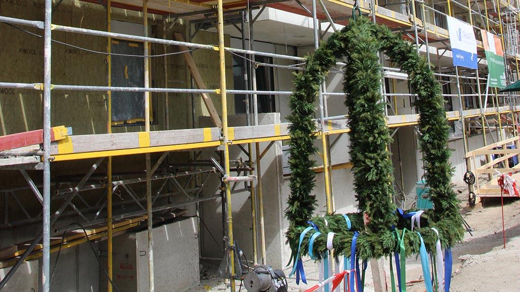 100 neue Wohnungen für Friedrichsfelde