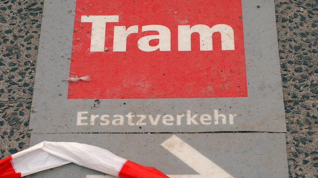 Ersatzverkehr ohne Baustelle
