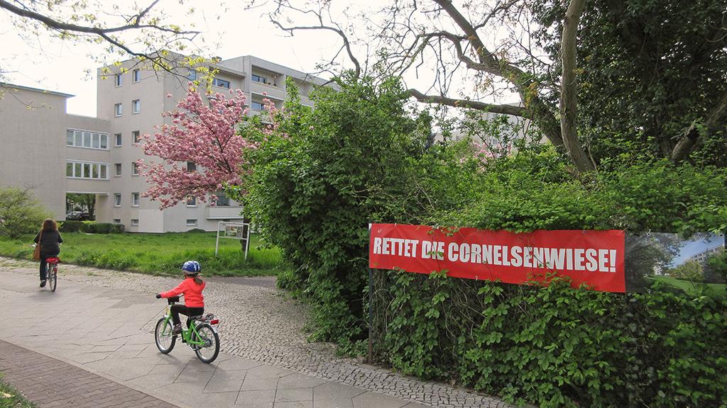 Cornelsenwiese soll Wohnungen weichen