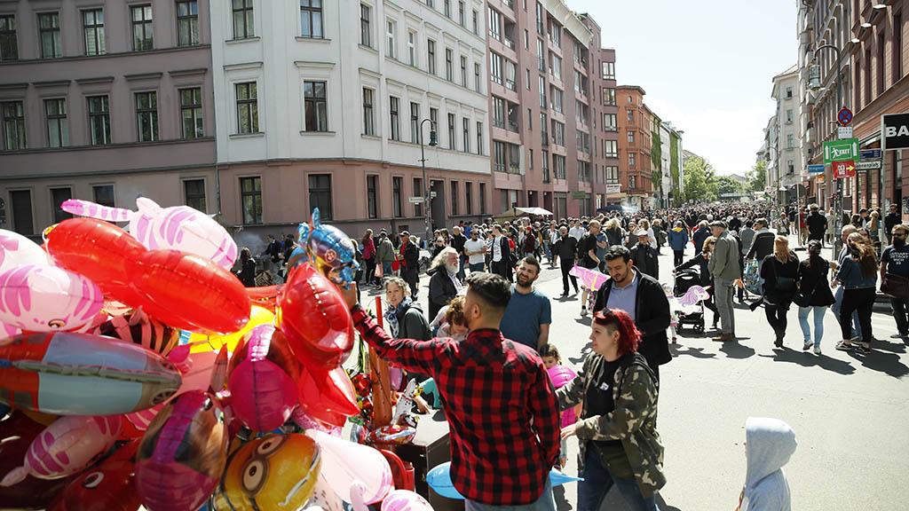 1. Mai in Kreuzberg: Demo und MyFest mal anders