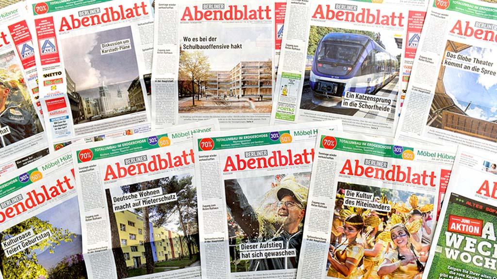 Frischer Wind im Berliner Abendblatt