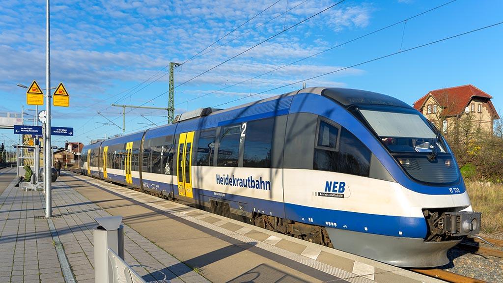 Berliner Nordosten: Bau der Heidekrautbahn verzögert sich