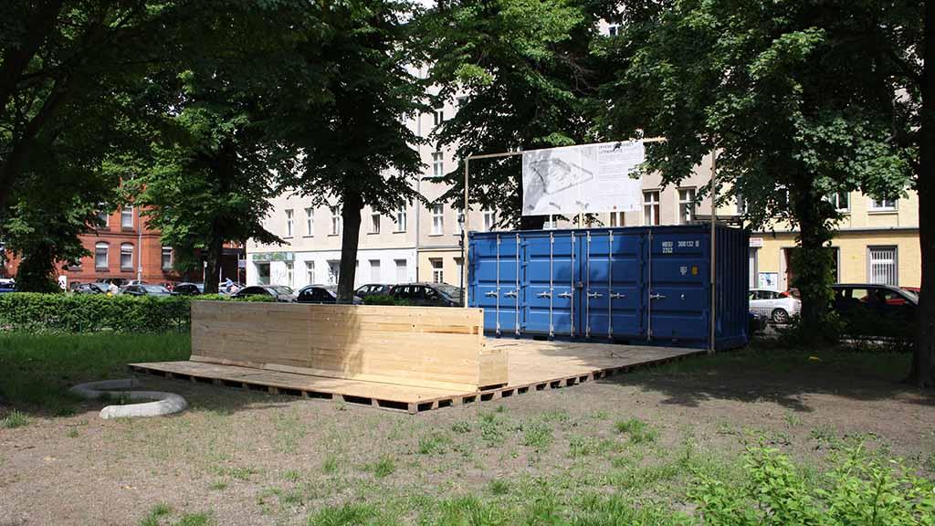 Spandau: Anwohner erobern den Lutherplatz
