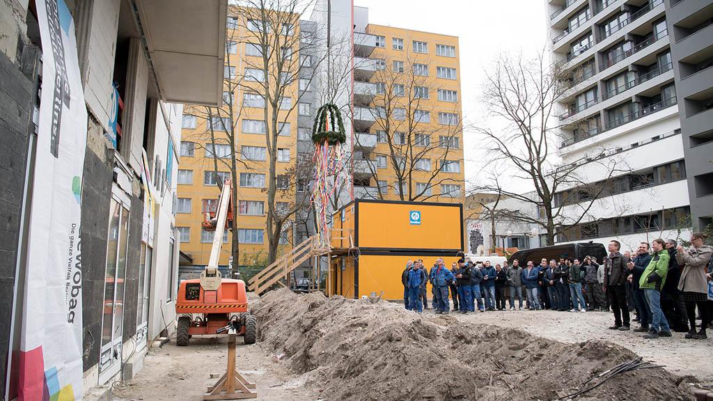 Kreuzberg: Wohnungsbau am Mehringplatz