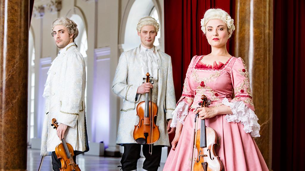 Mozart und Wegbegleiter im Schloss Charlottenburg