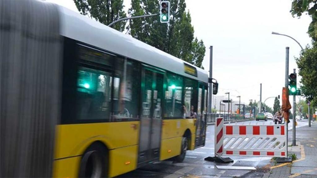 Busse weichen den Baustellen