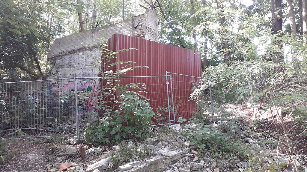 """Endlich Rettung für die """"Urmauer"""""""