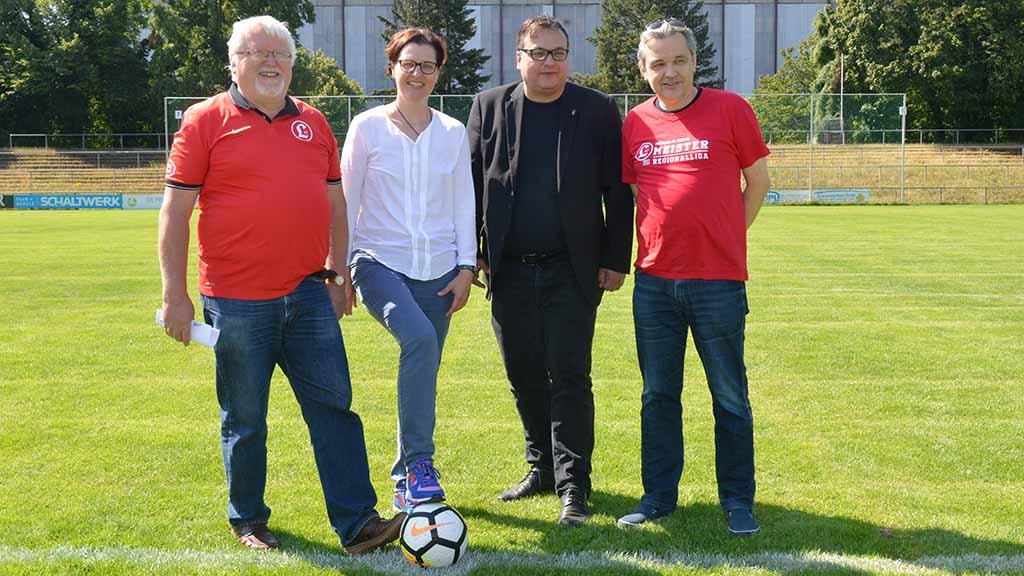 Lichtenberger Howoge-Arena wird fit für die Regionalliga gemacht