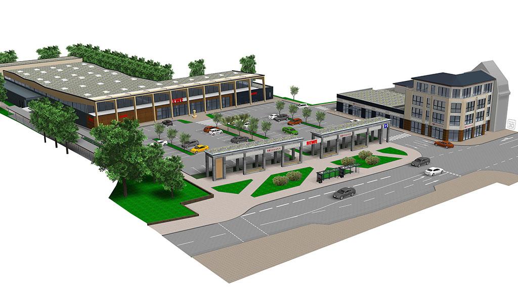 Ortsteilzentrum in Mahlsdorf wird neu gestaltet