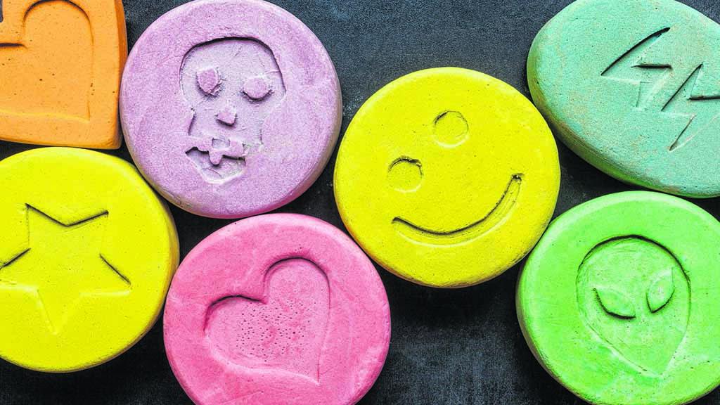 Ecstasy in Kinderhänden