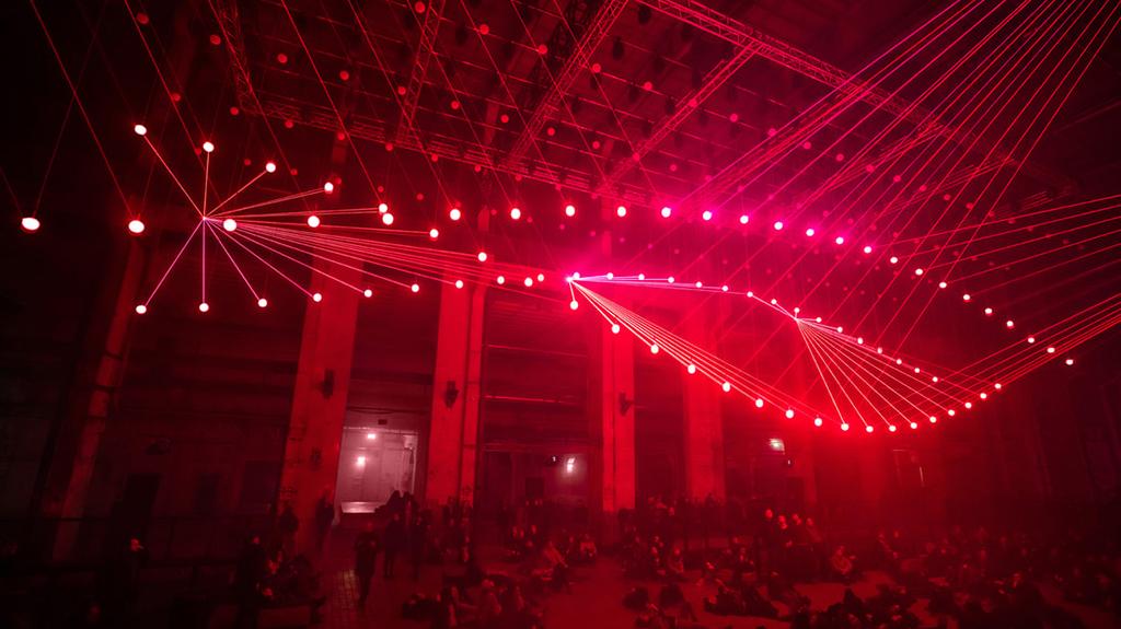 Audiovisuelle Kunst im Kraftwerk Berlin